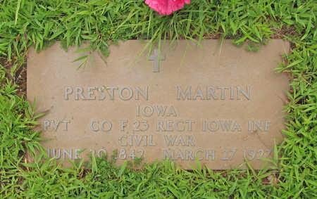 MARTIN (VETERAN UNION), PRESTON - Washington County, Arkansas | PRESTON MARTIN (VETERAN UNION) - Arkansas Gravestone Photos