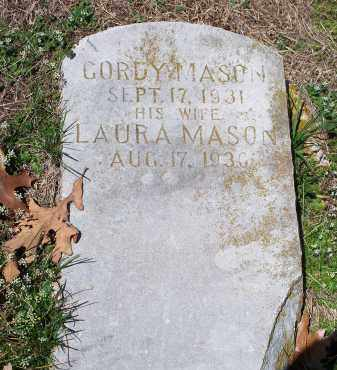 MASON, GORDY - Washington County, Arkansas | GORDY MASON - Arkansas Gravestone Photos