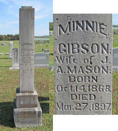 MASON, MINNIE - Washington County, Arkansas | MINNIE MASON - Arkansas Gravestone Photos