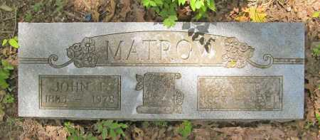 MATROW, JOHN E. - Washington County, Arkansas | JOHN E. MATROW - Arkansas Gravestone Photos