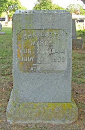 MAYES, CHARLOTTE - Washington County, Arkansas | CHARLOTTE MAYES - Arkansas Gravestone Photos