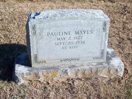 MAYES, PAULINE - Washington County, Arkansas | PAULINE MAYES - Arkansas Gravestone Photos