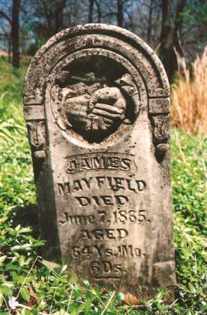 MAYFIELD, JAMES - Washington County, Arkansas | JAMES MAYFIELD - Arkansas Gravestone Photos