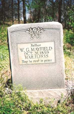 MAYFIELD, W G - Washington County, Arkansas | W G MAYFIELD - Arkansas Gravestone Photos