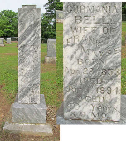 MAYES, GURMANIA - Washington County, Arkansas | GURMANIA MAYES - Arkansas Gravestone Photos