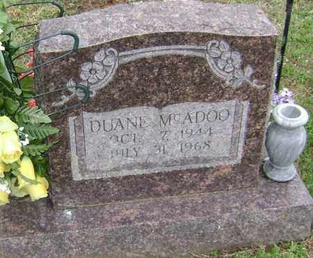MCADOO, DUANE - Washington County, Arkansas | DUANE MCADOO - Arkansas Gravestone Photos