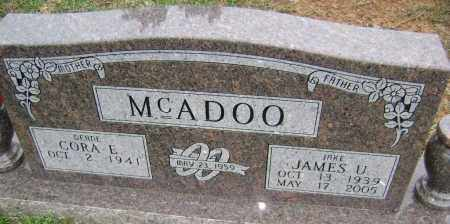 MCADOO, JAMES U. - Washington County, Arkansas | JAMES U. MCADOO - Arkansas Gravestone Photos
