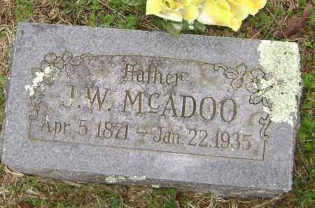 MCADOO, J. W. - Washington County, Arkansas | J. W. MCADOO - Arkansas Gravestone Photos