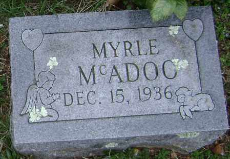 MCADOO, MYRLE - Washington County, Arkansas | MYRLE MCADOO - Arkansas Gravestone Photos