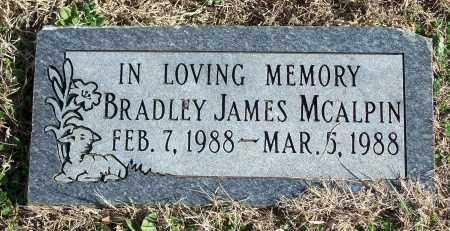 MCALPIN, BRADLEY JAMES - Washington County, Arkansas | BRADLEY JAMES MCALPIN - Arkansas Gravestone Photos
