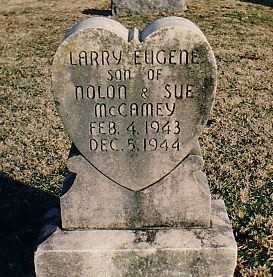 MCCAMEY, LARRY EUGENE - Washington County, Arkansas | LARRY EUGENE MCCAMEY - Arkansas Gravestone Photos