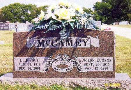 "MCCAMEY, LILLIAN FRANCES ""SUE"" - Washington County, Arkansas 