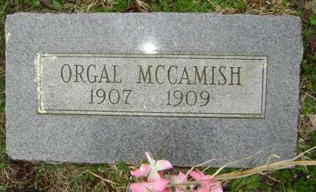 MCCAMISH, ORGAL - Washington County, Arkansas | ORGAL MCCAMISH - Arkansas Gravestone Photos