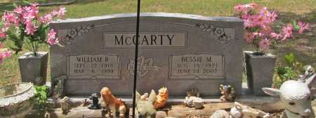 MCCARTY, WILLIAM R. - Washington County, Arkansas | WILLIAM R. MCCARTY - Arkansas Gravestone Photos