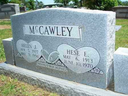 MCCAWLEY, HESE E. - Washington County, Arkansas | HESE E. MCCAWLEY - Arkansas Gravestone Photos