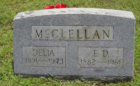 MCCLELLAN, DELIA - Washington County, Arkansas | DELIA MCCLELLAN - Arkansas Gravestone Photos