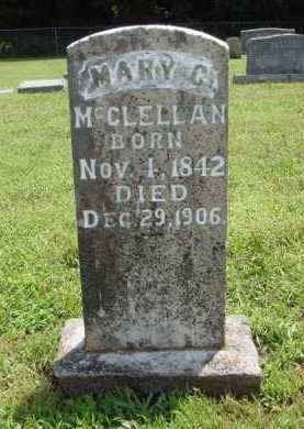 MCCLELLAN, MARY C. - Washington County, Arkansas | MARY C. MCCLELLAN - Arkansas Gravestone Photos