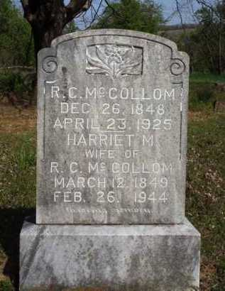 MCCOLLOM, R. C. - Washington County, Arkansas | R. C. MCCOLLOM - Arkansas Gravestone Photos