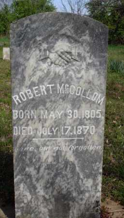 MCCOLLOM, ROBERT - Washington County, Arkansas | ROBERT MCCOLLOM - Arkansas Gravestone Photos