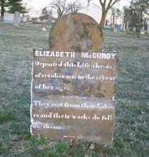 MCCURDY, ELIZABETH - Washington County, Arkansas | ELIZABETH MCCURDY - Arkansas Gravestone Photos