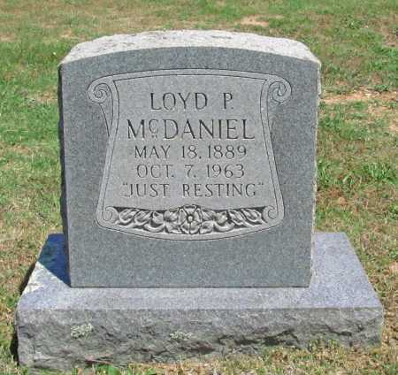 MCDANIEL, LOYD P - Washington County, Arkansas | LOYD P MCDANIEL - Arkansas Gravestone Photos