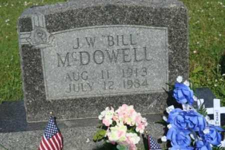 "MCDOWELL, J.W. ""BILL"" - Washington County, Arkansas | J.W. ""BILL"" MCDOWELL - Arkansas Gravestone Photos"