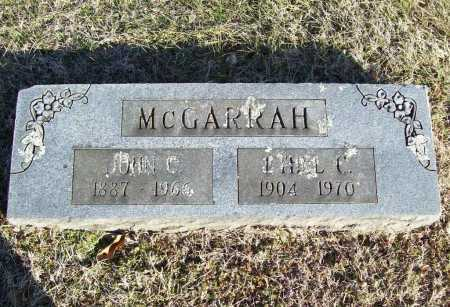 MCGARRAH, JOHN C. - Washington County, Arkansas | JOHN C. MCGARRAH - Arkansas Gravestone Photos
