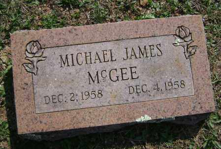 MCGEE, MICHAEL JAMES - Washington County, Arkansas | MICHAEL JAMES MCGEE - Arkansas Gravestone Photos