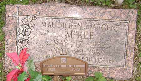 SARGENT MCKEE, MAUDILEEN - Washington County, Arkansas | MAUDILEEN SARGENT MCKEE - Arkansas Gravestone Photos