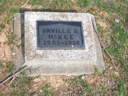 MCKEE, ORVILLE E. - Washington County, Arkansas | ORVILLE E. MCKEE - Arkansas Gravestone Photos