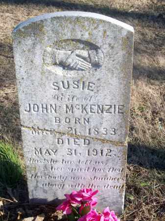 MCKENZIE, SUSIE - Washington County, Arkansas | SUSIE MCKENZIE - Arkansas Gravestone Photos