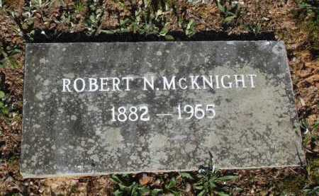MCKNIGHT, ROBERT N. - Washington County, Arkansas | ROBERT N. MCKNIGHT - Arkansas Gravestone Photos