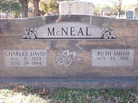 MCNEAL, CHARLES DAVID - Washington County, Arkansas | CHARLES DAVID MCNEAL - Arkansas Gravestone Photos