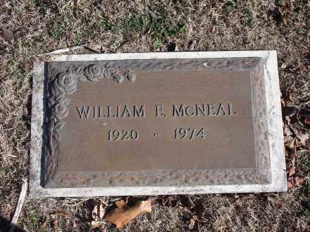 MCNEAL, WILLIAM E. - Washington County, Arkansas | WILLIAM E. MCNEAL - Arkansas Gravestone Photos