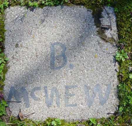 MCNEW, B. - Washington County, Arkansas | B. MCNEW - Arkansas Gravestone Photos