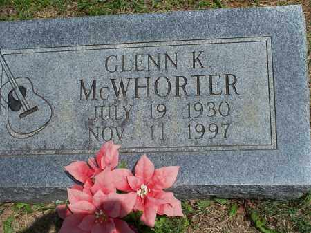 MCWHORTER, GLENN K. - Washington County, Arkansas | GLENN K. MCWHORTER - Arkansas Gravestone Photos