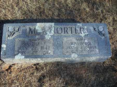 MCWHORTER, WILLIAM H. - Washington County, Arkansas | WILLIAM H. MCWHORTER - Arkansas Gravestone Photos