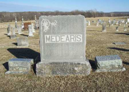 MEDEARIS, FAMILY STONE - Washington County, Arkansas | FAMILY STONE MEDEARIS - Arkansas Gravestone Photos