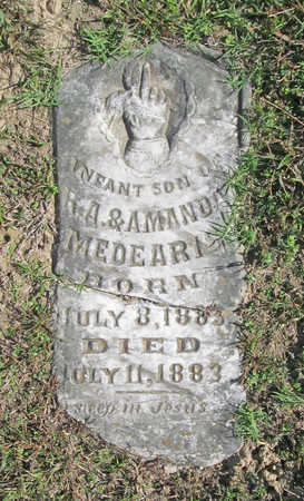 MEDEARIS, INFANT SON - Washington County, Arkansas | INFANT SON MEDEARIS - Arkansas Gravestone Photos