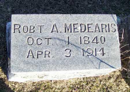 MEDEARIS (VETERAN CSA), ROBERT ANDERSON - Washington County, Arkansas | ROBERT ANDERSON MEDEARIS (VETERAN CSA) - Arkansas Gravestone Photos