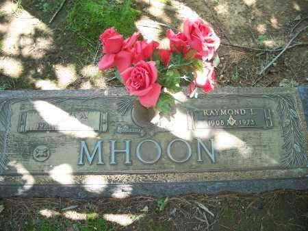 MHOON, RAYMOND LEWIS - Washington County, Arkansas | RAYMOND LEWIS MHOON - Arkansas Gravestone Photos