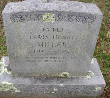 MILLER, LEWIS HENRY - Washington County, Arkansas | LEWIS HENRY MILLER - Arkansas Gravestone Photos