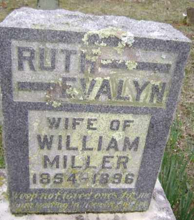 MILLER, RUTH EVALYN - Washington County, Arkansas | RUTH EVALYN MILLER - Arkansas Gravestone Photos