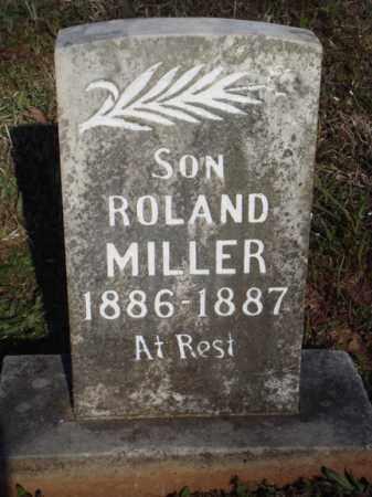 MILLER, ROLAND - Washington County, Arkansas | ROLAND MILLER - Arkansas Gravestone Photos