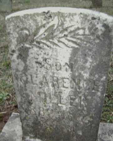 MILLER, CLARENCE - Washington County, Arkansas | CLARENCE MILLER - Arkansas Gravestone Photos