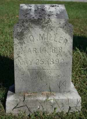 MILLER, T. Q. - Washington County, Arkansas | T. Q. MILLER - Arkansas Gravestone Photos