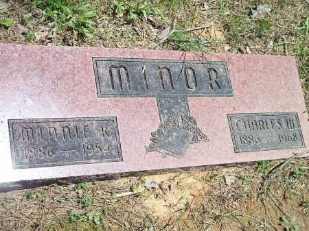 MINOR, MINNIE K. (2) - Washington County, Arkansas | MINNIE K. (2) MINOR - Arkansas Gravestone Photos