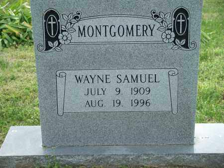 MONTGOMERY, WAYNE SAMUEL - Washington County, Arkansas | WAYNE SAMUEL MONTGOMERY - Arkansas Gravestone Photos