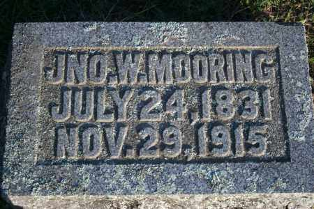MOORING (VETERAN), JOHN W - Washington County, Arkansas | JOHN W MOORING (VETERAN) - Arkansas Gravestone Photos