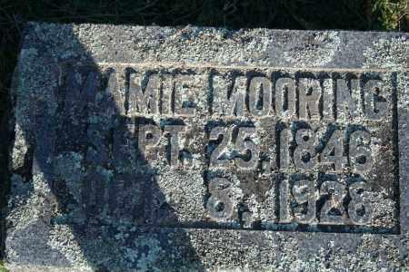MOORING, MAMIE - Washington County, Arkansas | MAMIE MOORING - Arkansas Gravestone Photos